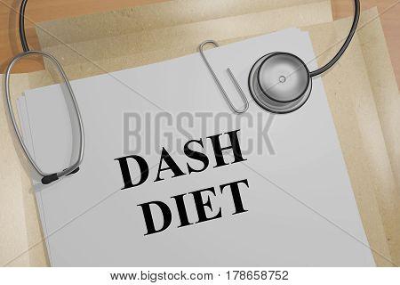 Dash Diet - Medical Concept