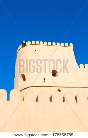 In Oman    Defensive  Fort Battlesment