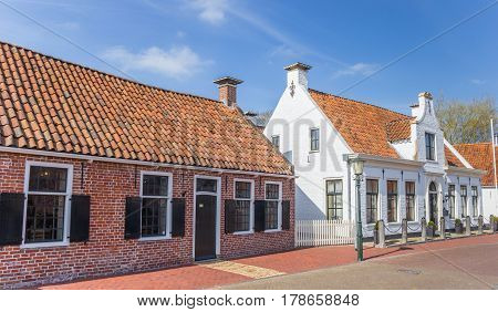Old Houses In The Historical Village Of Aduard