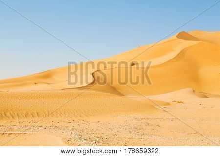 In Oman Old Desert And Outdoor