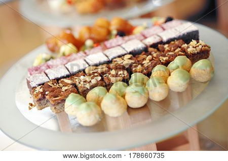 Assorted Sweets Displayed In A Store