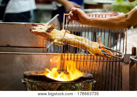 Thai Whole Pig Barbecue
