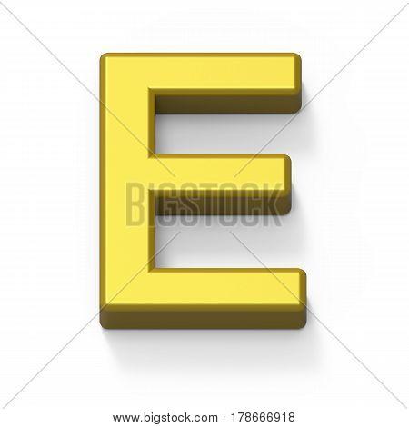 Matte Gold Font E