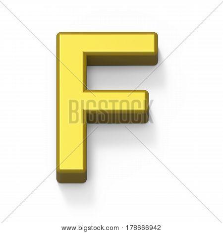 Matte Gold Font F