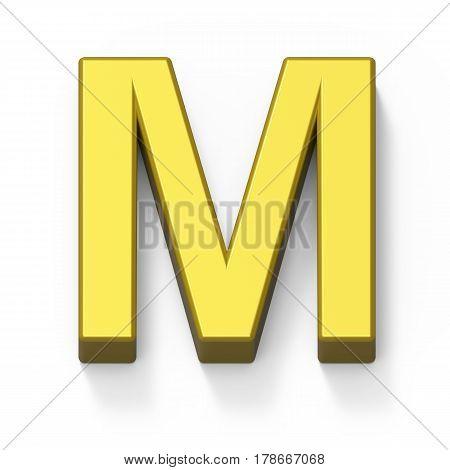 Matte Gold Font M