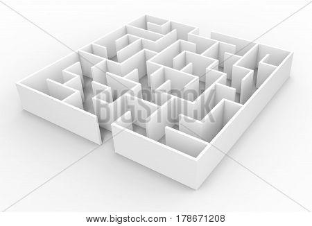 3D Rendering Maze
