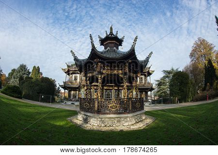 Chinese House, Brussels, Belgium