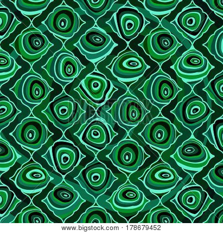 Background from decorative pattern of malachite slices