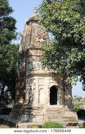 Temple Of Khajuraho On India