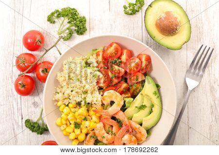 vegetarian salad bowl