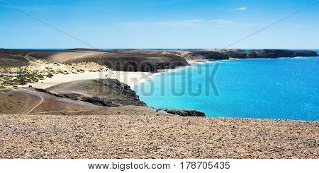 View Of Papagayo In Playa Blanca, Lanzarote