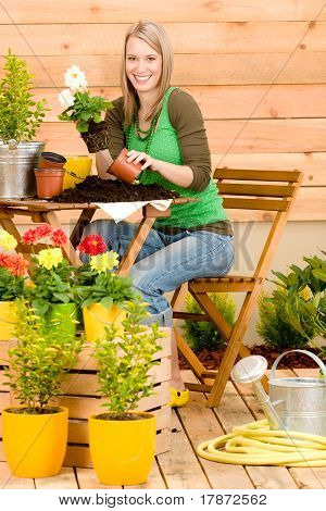 Gardening Woman