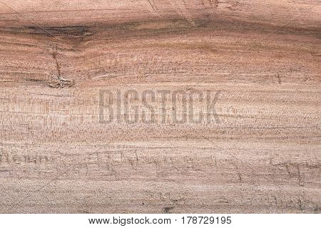 Planed Pear Wood Surface