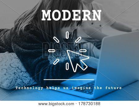 Modern Technology Trending Innovation Concept