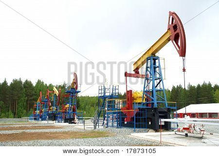 Pump jack, oil industry