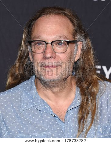 LOS ANGELES - MAR 17:  Gregory Nicotero arrives for the PaleyFest 2017-The Walking Dead on March 17, 2017 in Hollywood, CA