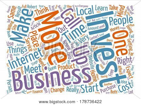 Investment Required text background word cloud concept poster