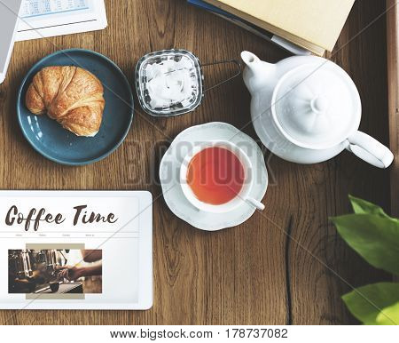 Coffee Time Break Cafe Leisure Relaxation