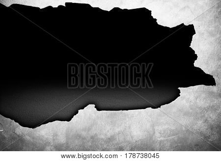 broken concrete wall background