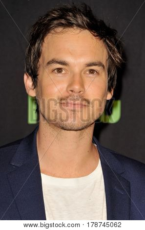 Tyler Blackburn at the 34th Annual PaleyFest Los Angeles presentation of 'Pretty Little Liars' held at the Dolby Theatre in Hollywood, USA on March 25, 2017.