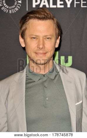 Jimmi Simpson at the 34th Annual PaleyFest Los Angeles presentation of 'Westworld' held at the Dolby Theatre in Hollywood, USA on March 25, 2017.