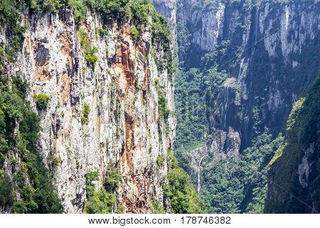 Waterfall At Itaimbezinho Canyon