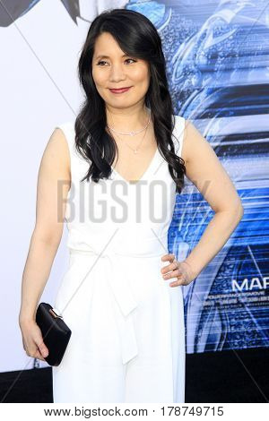 LOS ANGELES - MAR 22:  Fiona Fu at the Lionsgate's
