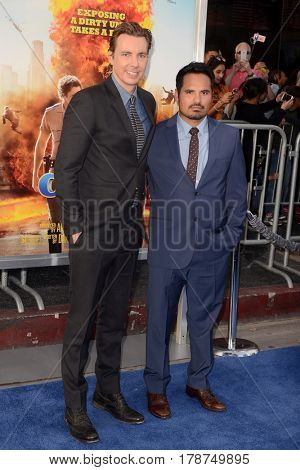 LOS ANGELES - MAR 20:  Dax Shepard, Michael Pena at the