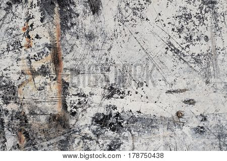 Grunge Scratched White Abstract Mineral Texture II