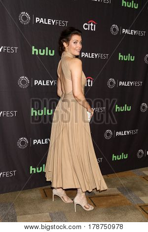 LOS ANGELES - MAR 26:  Bellamy Young at the 34th Annual PaleyFest Los Angeles -