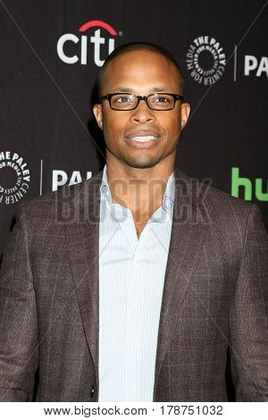LOS ANGELES - MAR 26:  Cornelius Smith Jr. at the 34th Annual PaleyFest Los Angeles -