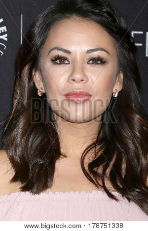 LOS ANGELES - MAR 25:  Janel Parrish at the 34th Annual PaleyFest Los Angeles -