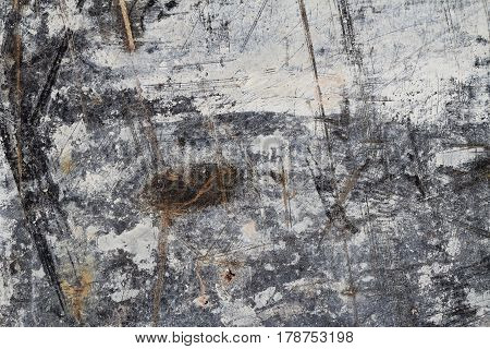 Abstract Background Texture in White and Brown on Black II