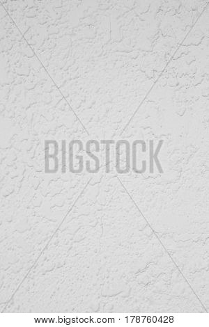 white cement plaster wall background and texture