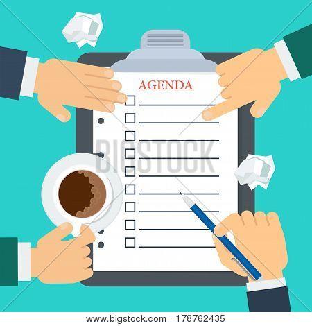 Discussion Of Agenda