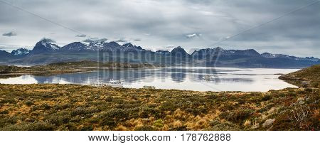 Bay in the Beagle channel - Land of Fire