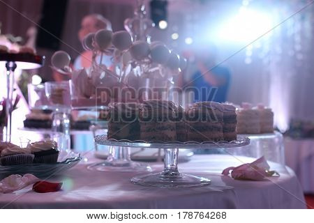 candybar on a table in a restaurant