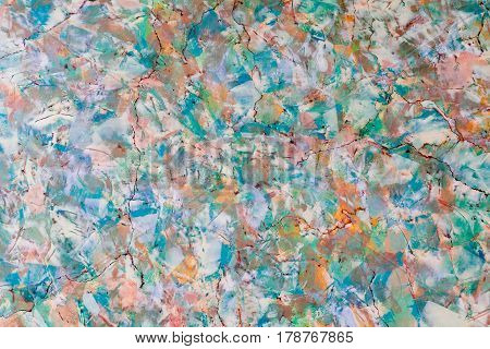 Amazing abstract view of Venetian plaster style interior wall paint, background