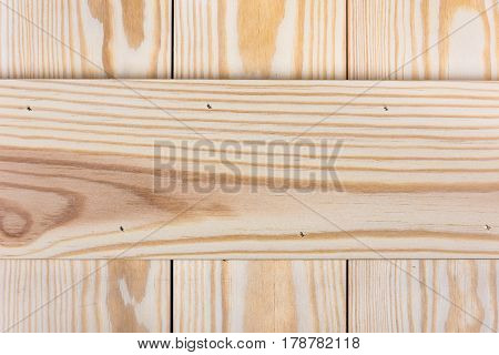 Wooden texture made of planks. Natural background.