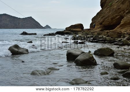 Playa los Frailes Beach in Machalilla National Park Ecuador