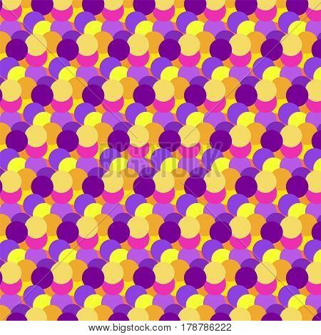 Abstract color dot vector background pattern. Simple dots texture for wallpaper, web design, decorative or fabric textile.