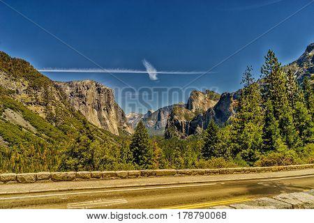 Half Dome Yosemite National Park western Sierra Nevada mountains of Northern California