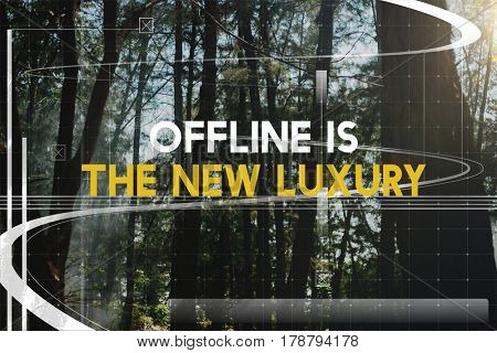 Offline is the New Luxury Serenity Getaway from it All