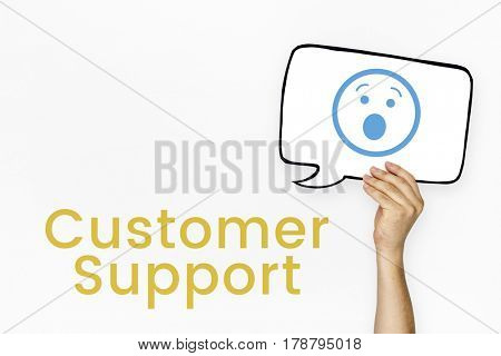 Satisfactory Client Comment Customer Support
