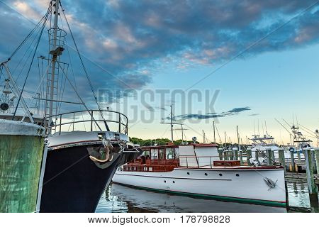 Falmouth Harbor is located on the south side of Cape Cod halfway between Newport RI and Nantucket Island.