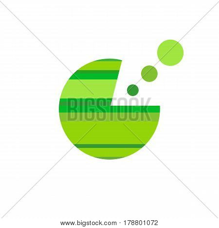 Business Abstract Circle icon. Corporate Media Technology styles vector logo design template