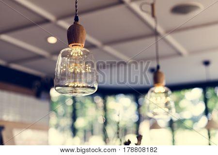 Ceiling Lamp Bulb Decorative Hanging Interior