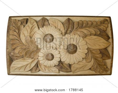 Cover Of A Casket
