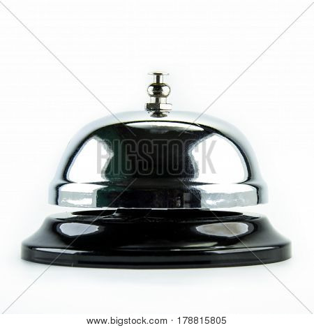 bell , service bell on white background