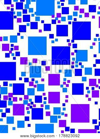 Abstract Background With Random Blocks. Pattern For Corporate Concept.